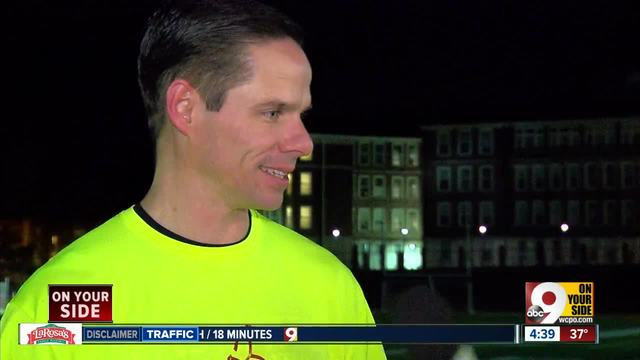 Withrow High School principal running 50 miles on track to inspire students