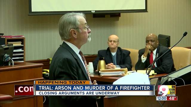 Closing arguments in arson- murder trial over Hamilton firefighter-s death