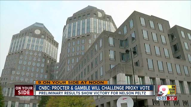 P&G is challenging Peltz's win in vote recount