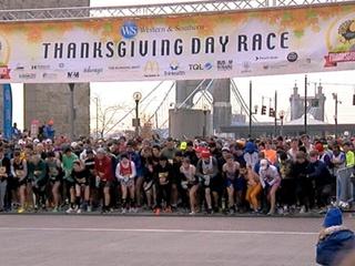 Thanksgiving Day 10K breaks record for runners