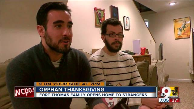 Orphan Thanksgiving welcomes those without family holidays