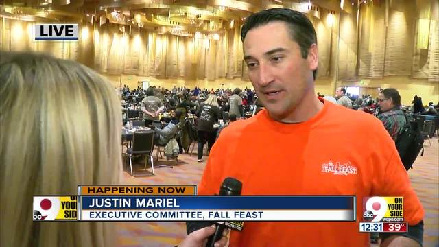 Volunteers feed thousands at this year-s Fall Feast