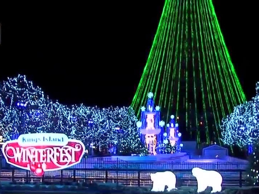 Kings Island flipping switch on 5 million lights at WinterFest ...