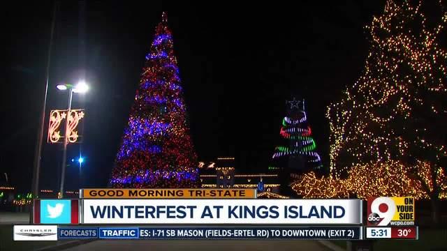Kings Island flipping switch on 5 million lights at WinterFest
