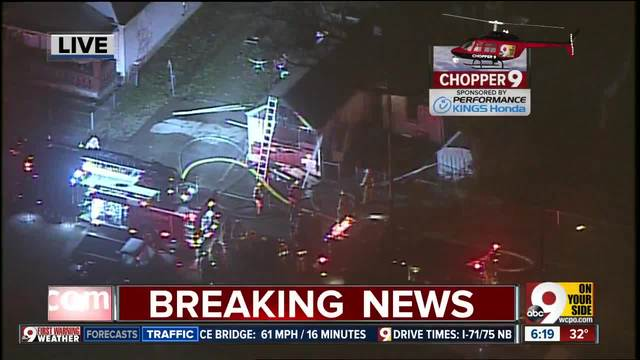 FD- Neighbor dragged man out of burning house