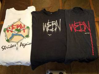 Remember buying those must-have WEBN T-shirts?
