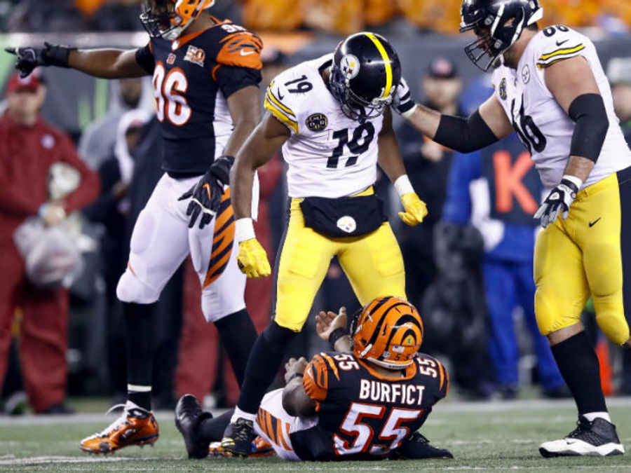 As the Bengals prepare to meet the Steelers, 'the history doesn't matter,' playe...