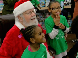 Landlords play Santa for disadvantaged families