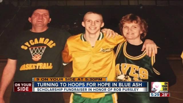 Basketball tournament helps honor memory of Rob Pursley