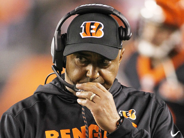 Hue Jackson top choice to succeed Marvin Lewis