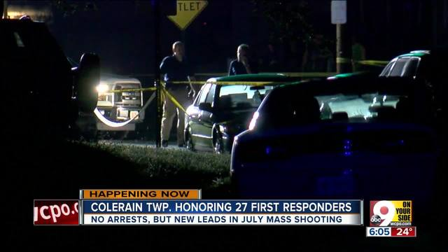 Colerain Township honors 27 first responders