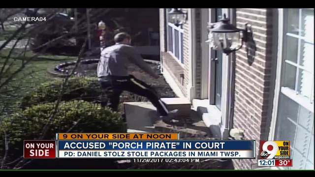 PD- Facebook post helps nab accused -porch pirate- in Miami Township…