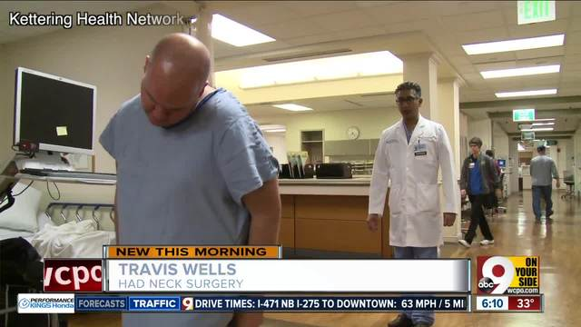 Pioneering spinal surgery changes Middletown man-s life