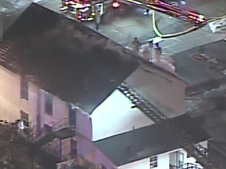 Firefighters battle cold at Lebanon church fire