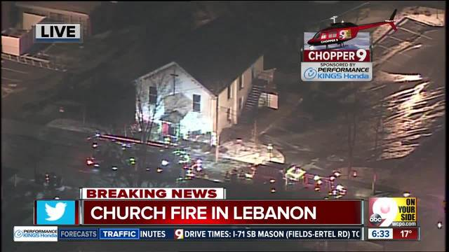 Interview with pastor of Bethel AME Church in Lebanon after church fire