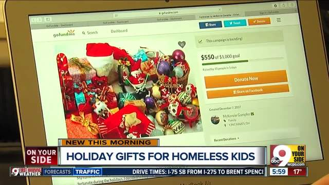 Mariemont high schooler gathering toys for children in homeless shelter