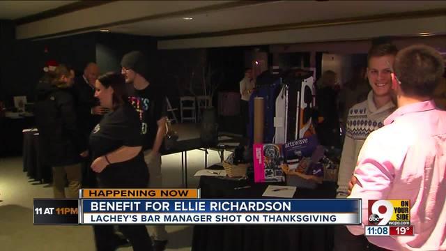 Benefit for Ellie Richardson