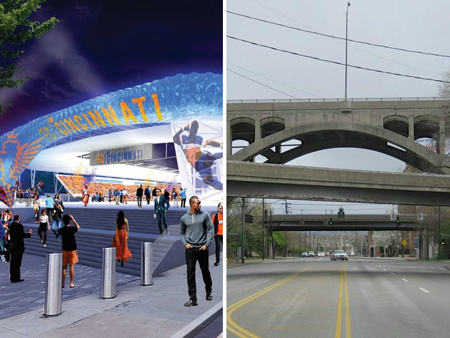 Why a stadium plan came before a viaduct plan