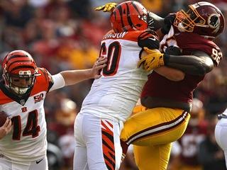 Depleted Bengals put T.J. Johnson on injury list