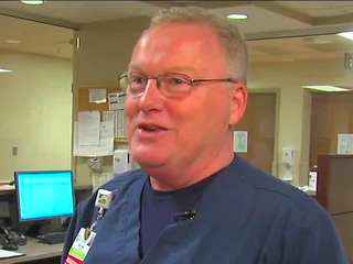 Nurse follows one act of kindness with another