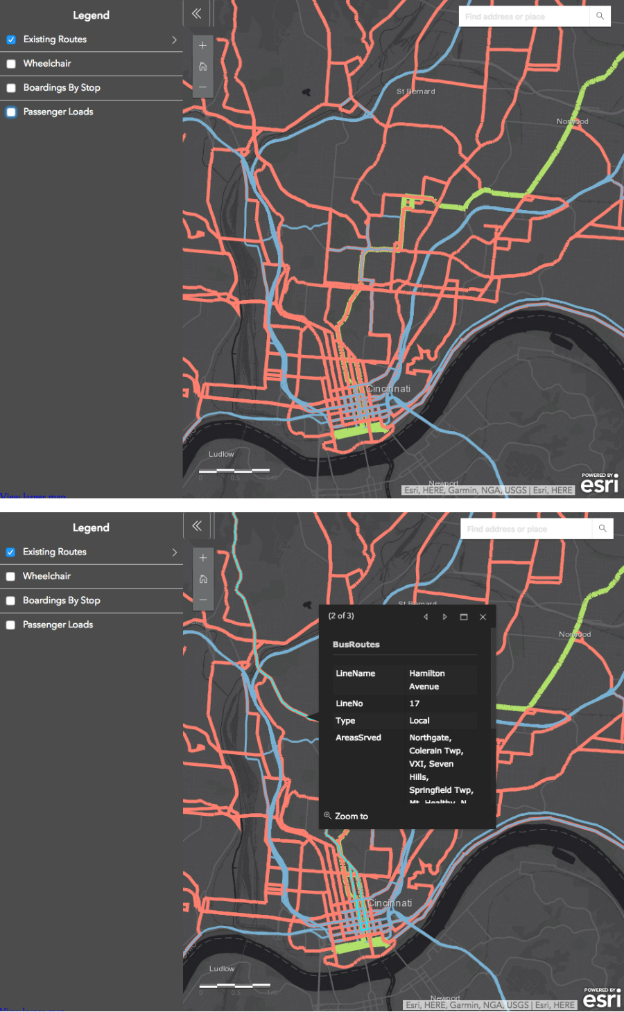 Bus advocate hopes new map will show just how many people