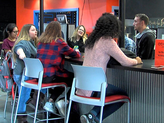 Teen center gives students a place to go
