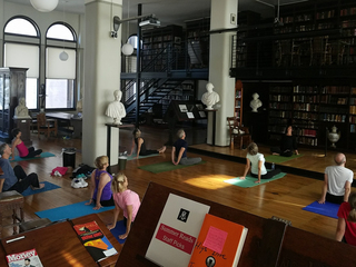 Yoga (and more) coming to Mercantile Library