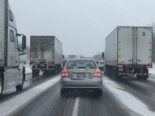 Traffic maps: See where snow is creating backups