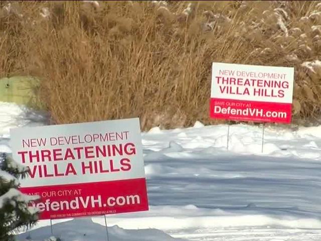 Controversy over Villa Hills development