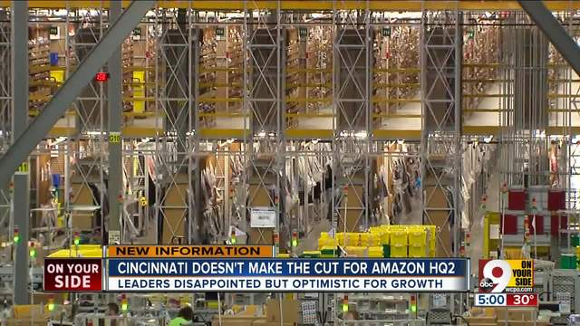 Philadelphia among Amazon's 20 finalists for its second headquarters
