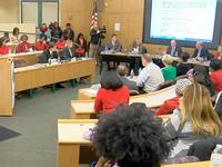 Parents pack Mason City School board meeting