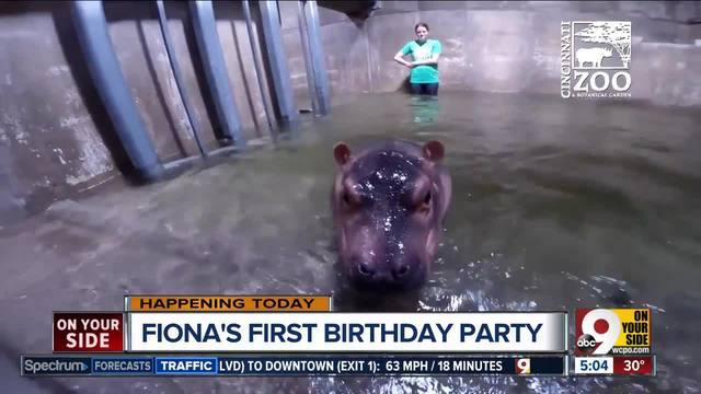 Happy birthday, Fiona — EDITORIAL CARTOON