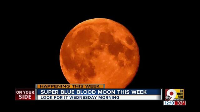Do not miss the Super Blue Blood Moon this Wednesday