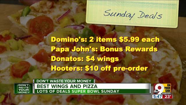 Great Super Bowl Food Deals on Pizza, Wings, and More