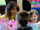 First lady learns about youngest opioid victims