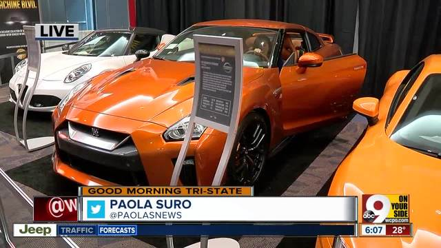 Four Great Cars To Check Out At The Cincinnati Auto Expo WCPO - Car show in cincinnati this weekend