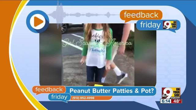 Feedback Friday- Peanut Butter Patties and pot