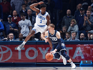 Xavier couldn't overcome 'Nova's hot start