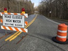 Roads close as Ohio River reaches flood stage