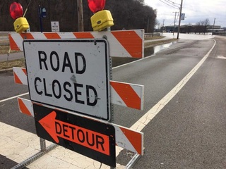 LIST: Major road closures due to flooding