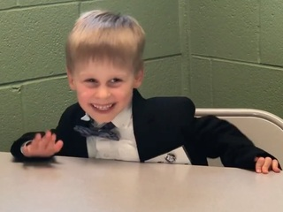 Don't know presidential trivia? Turn to this kid