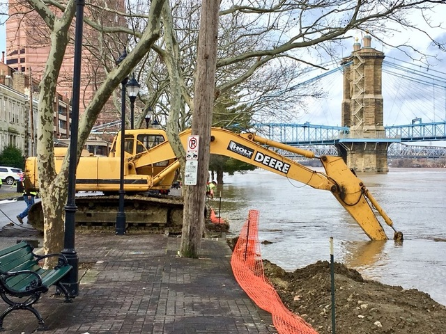 What Greater Cincinnati is doing as river rises