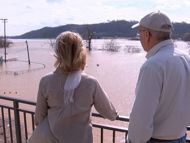 Illinois River Flooding In Cherokee County