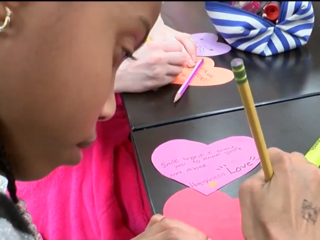 Local students send love to Florida schools