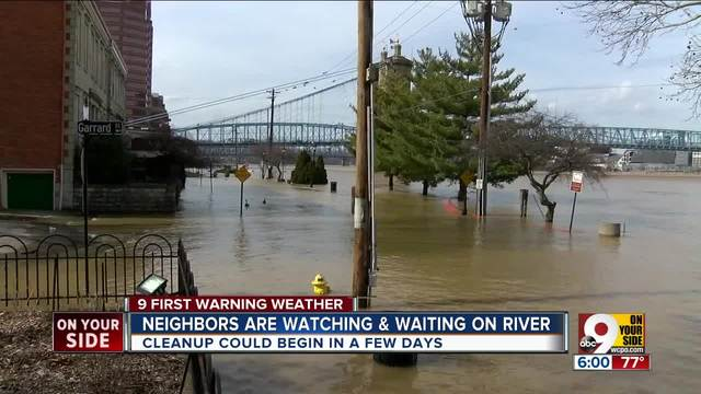 Neighbors are watching and waiting on Ohio River