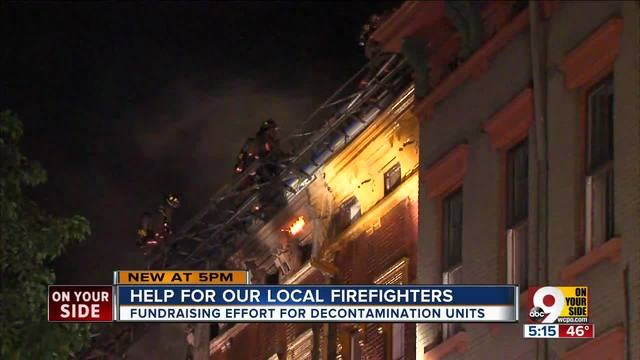 Help for local firefighters