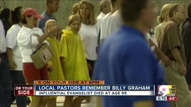 Local pastors remember Billy Graham