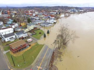 Which places have flood emergencies, shelters