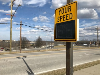 New speed signs are keeping an eye on you