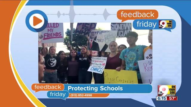 Feedback Friday- Protecting kids in school